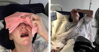 Η γυναίκα με το χειρότερο πόνο στην ιατρική κινδυνεύει με εσωτερικό αποκεφαλισμό