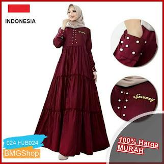 HJB024 Marion Maxi Dress Muslim BMGShop
