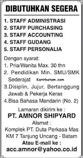PT. Amnor Shipyard Indonesia