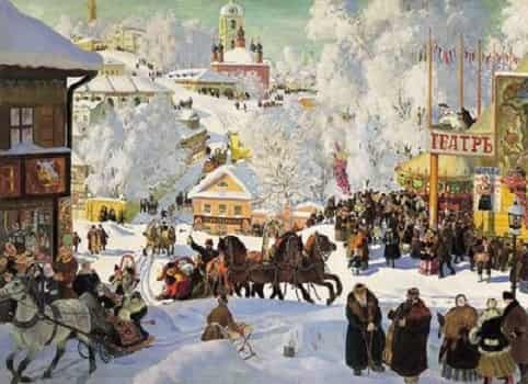 История празднования Масленицы
