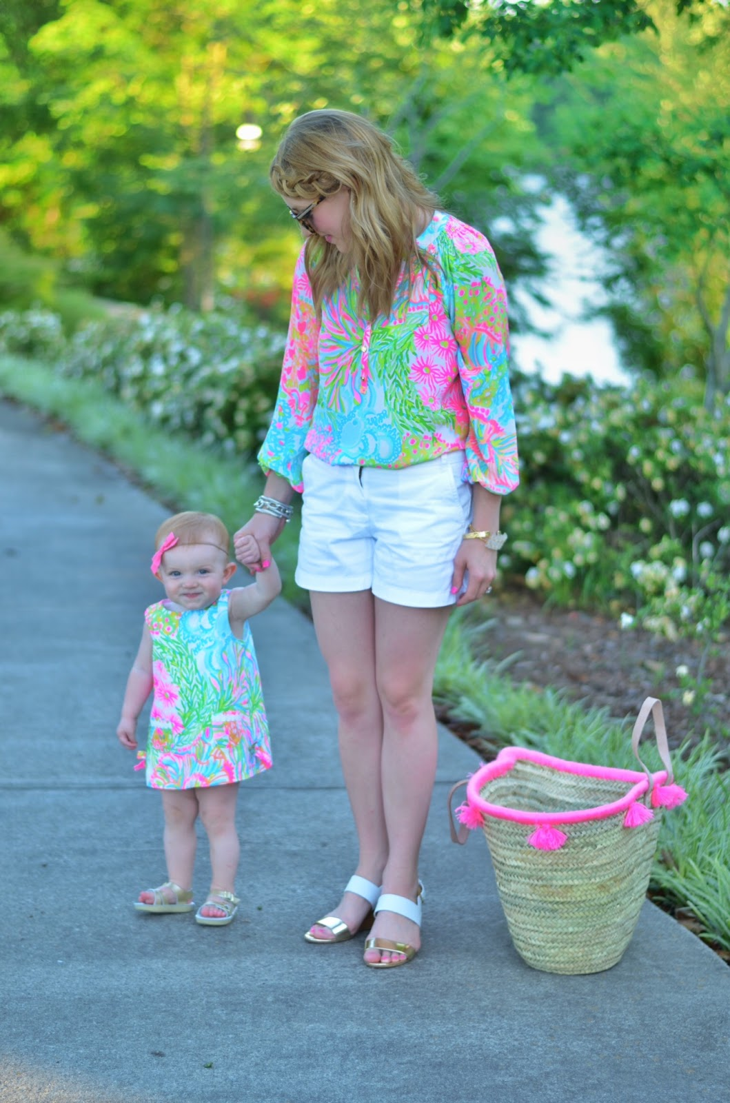 Matching in Lilly Pulitzer