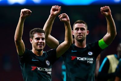 Highlight Atletico Madrid 1-2 Chelsea, 27 September 2017
