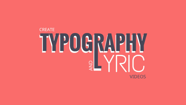 Typography And Lyric Music Video For Your Song
