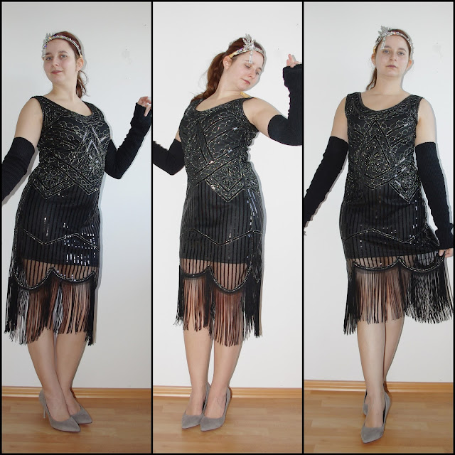 [Fashion] Inspired by The Great Gatsby: Black Sequin Dress