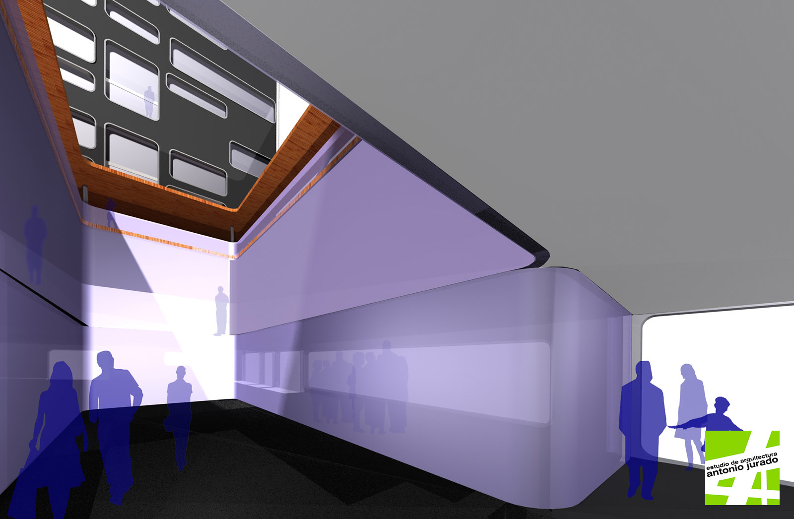 Edificio de viviendas y oficinas zaragoza estudio de for Oficina correos marbella