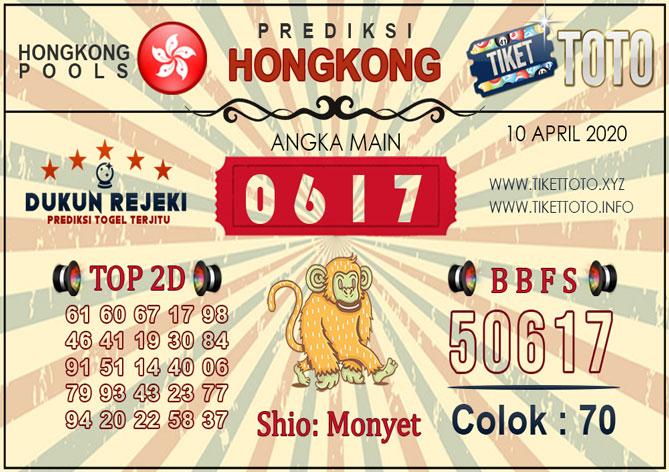Prediksi Togel HONGKONG TIKETTOTO 10 APRIL 2020