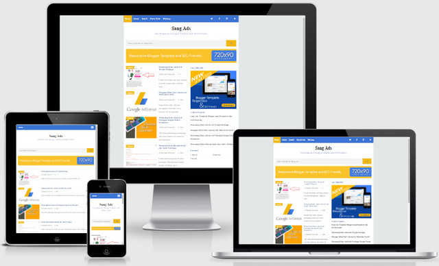 SangADS SEO Friendly Responsive Blogger Templates