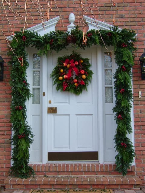Cute Pinterest: Christmas Door Decorations