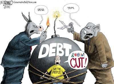 Image result for american debt bomb