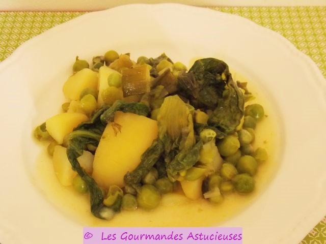 Les gourmandes astucieuses cuisine v g tarienne bio - Comment cuisiner des petit pois en boite ...
