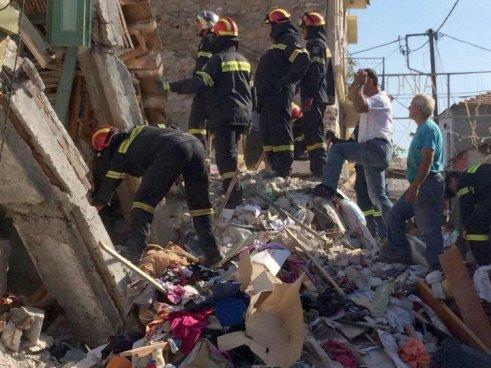 Βιβλική καταστροφή σε Πλωμάρι και Βρίσα από τον σεισμό 6,1 Ρίχτερ στη Λέσβο