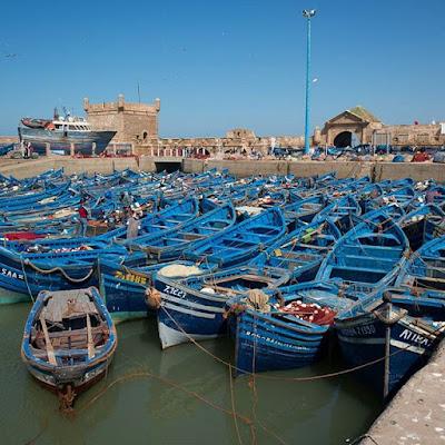 Puerto pesquero de Essaouira