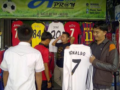 Jersey di Medan