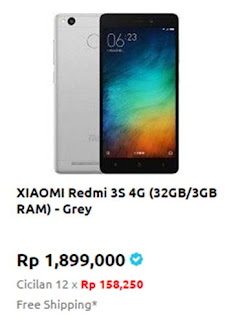 Xiaomi Redmi 3S 4G-32GB/3GB