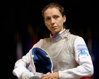 Valentina Vezzali won nine Olympic medals, including six golds, making her one of fencing's all-time greats