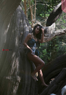 Lailanni Hussein  Bikini in Jungle promoting 138 Waters ~ Celebs.in Exclusive