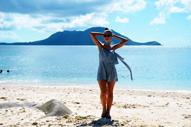 blogger beach style