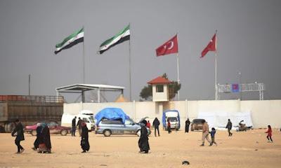 500 Pejuang Asing Masuk Melalui Turki