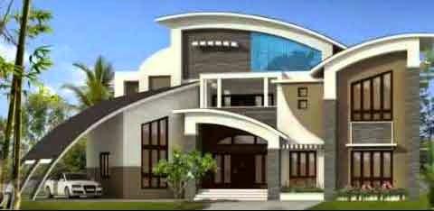 contoh rumah minimalis mewah