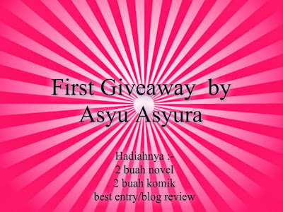 First Giveaway By Asyu Asyura