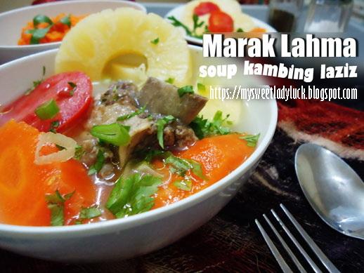 sop kambing arab