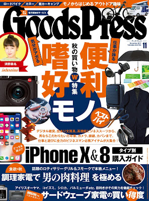 GoodsPress (グッズプレス) 2017年11月号 raw zip dl