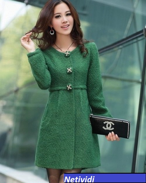 Emerald Green Woman Clothing Fashion