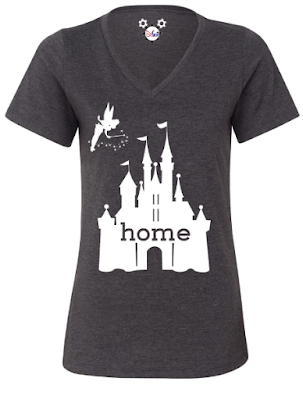 Disney Castle is my Home Shirt, Holiday Gift Guide for Disney Moms