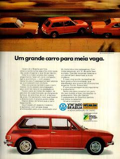 propaganda Volkswagen Brasilia 1600 - 1973, vw anos 70, carros Volkswagen década de 70, anos 70; carro antigo Volks, década de 70, Oswaldo Hernandez,