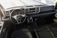 MAN TGE Panel Van (2017) Dashboard