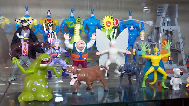 Bandai The Tick action figure series