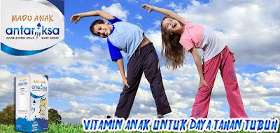 Vitamin Untuk Daya Tahan Tubuh Anak