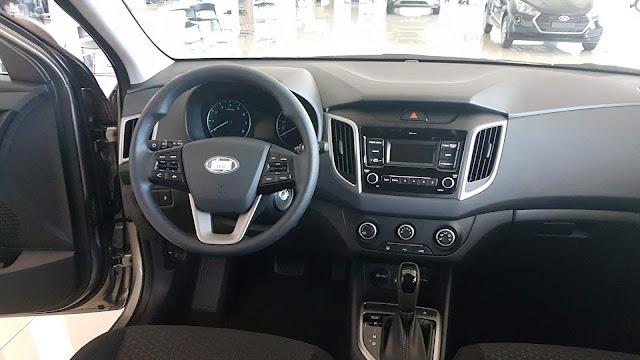 Hyundai Creta 1.6 Automático - painel