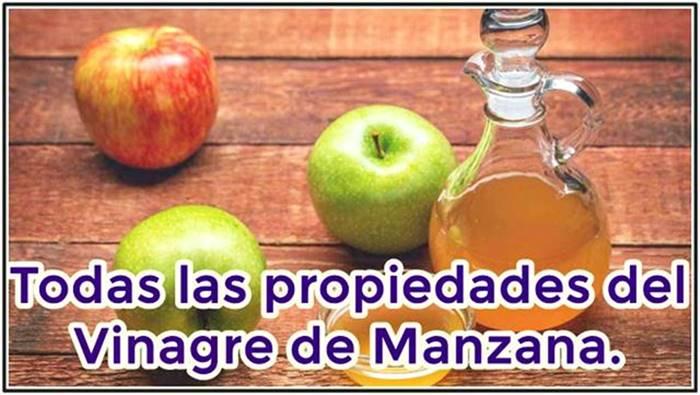 Increíbles propiedades del vinagre de manzana que sirven para mejorar la salud