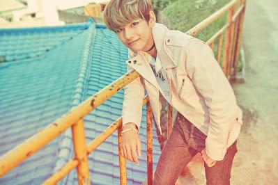 V (Kim Tae Hyung) BTS Bangtan Boys