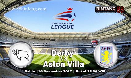 Prediksi Derby vs Aston Villa Sabtu, 16 Desember 2017