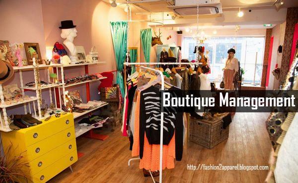 Boutique Management Great Scope For Fashion Designers Fashion2apparel