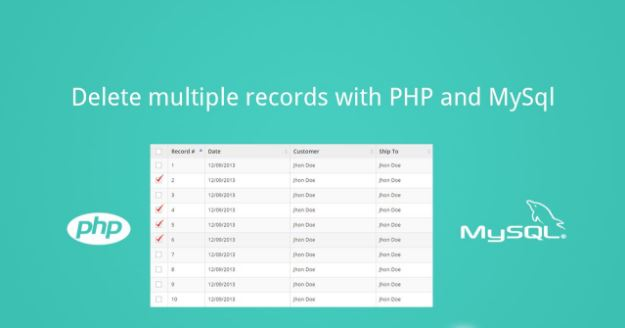Tutorial Delete Multiple Record with PHP
