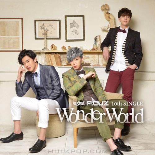 F.CUZ – Wonder World (Type A + B) – EP (Japanese)