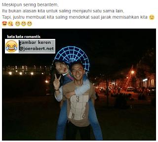 romantis berarti sering berantem