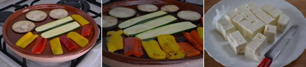 Insalata di Verdure Grigliate e Feta