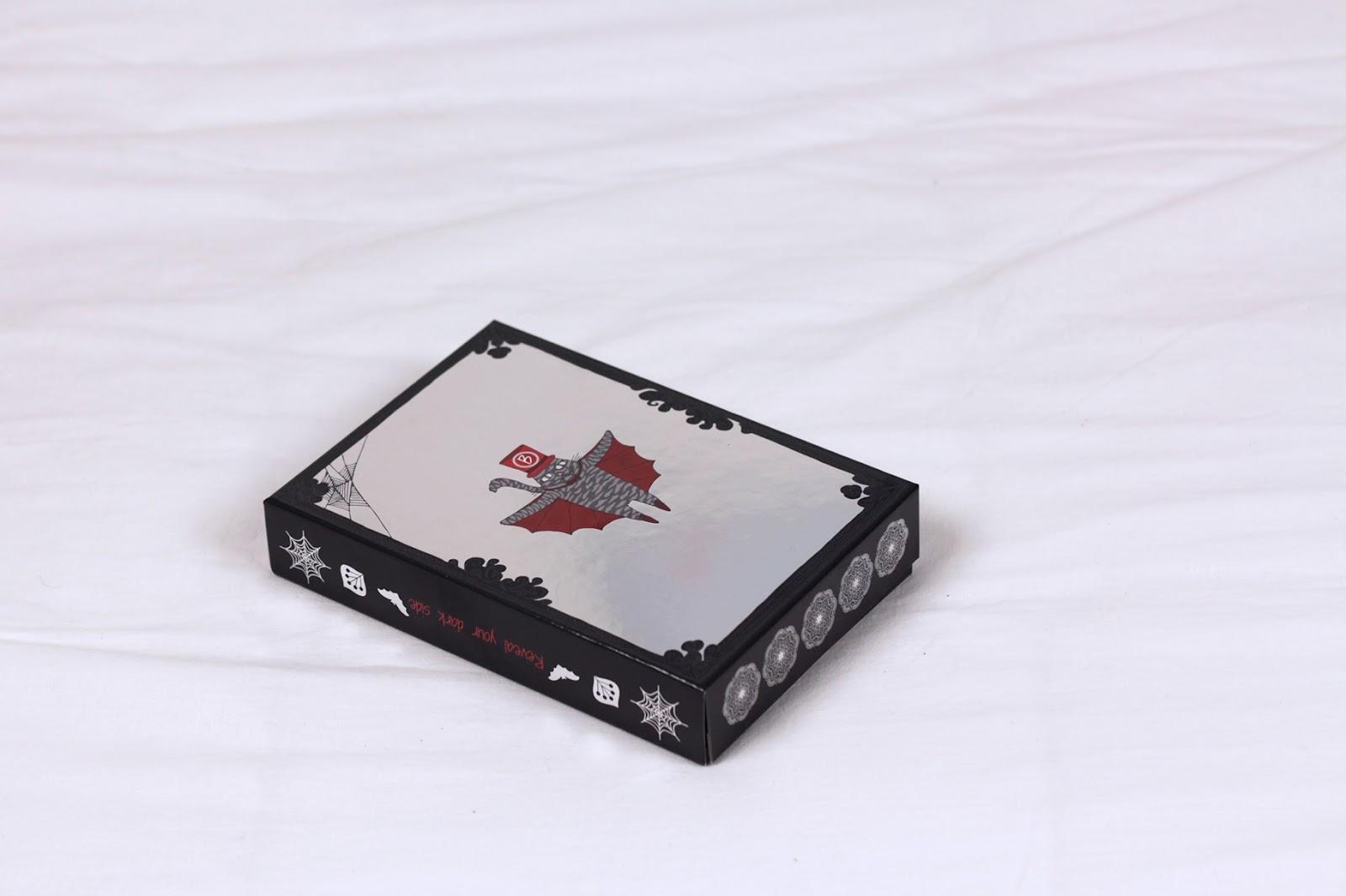 Trucco vampira per Halloween e la beautiful box di alfemminile