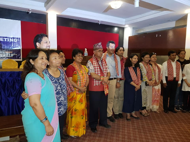 Nepal Ophthalmic Society doctors