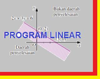 Program Linear Dalam Kehidupan Sehari-Hari