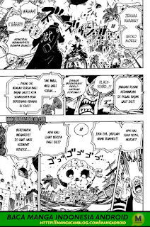 Komik One Piece Chapter 925 Indonesia : Kekosongan