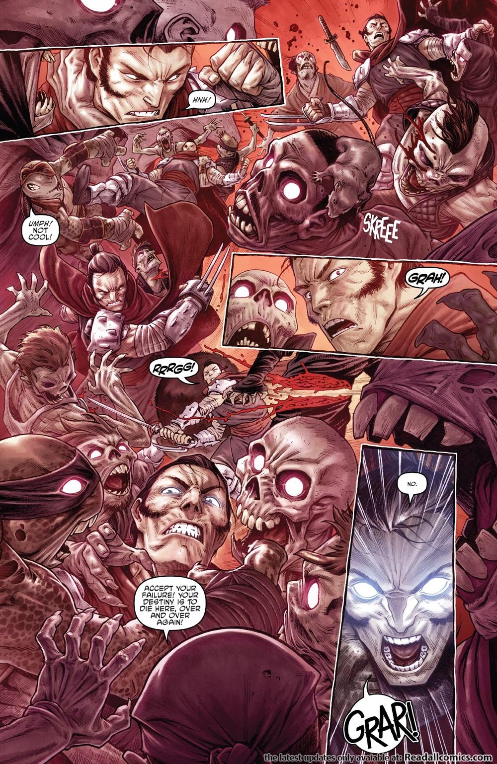 Teenage Mutant Ninja Turtles – Shredder In Hell 002 (2019 ...