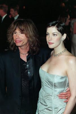 Steven Tyler  y su princesa Liv