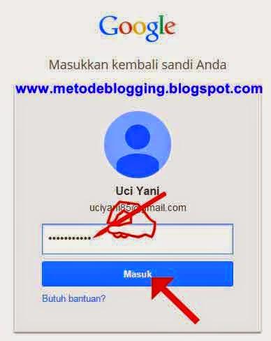 login-blogger
