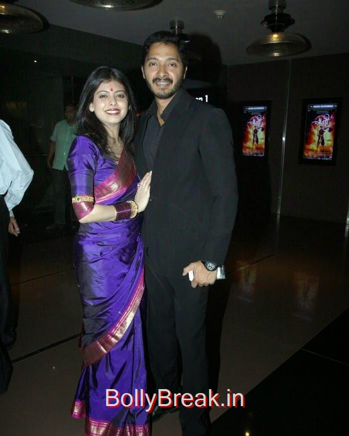 Deepti, Shreyas Talpade, Pics from 'Baji' Marathi Movie Premier Photo Gallery