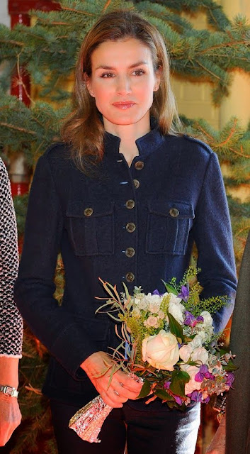 Queen Sofia and Princess Letizia of Spain attended Rastrillo Nuevo Futuro in Madrid
